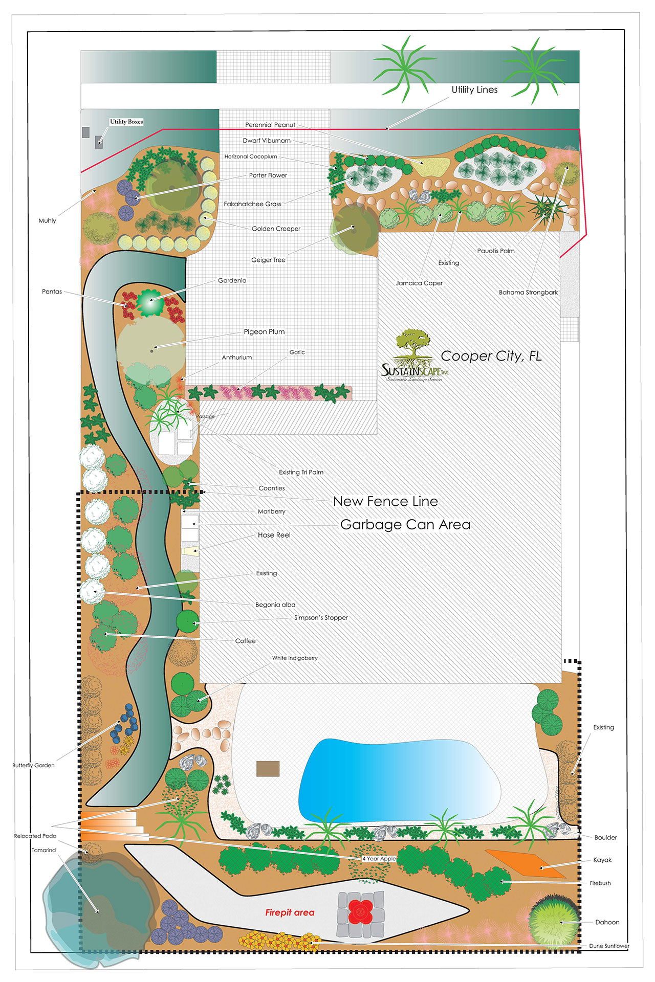 Cooper City Landscape Design